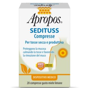 Desa Pharma srl Apropos Sedituss Compresse Integratore per la Tosse