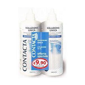 Sanifarma Contacta soluzione unica 2 flaconi 360ml