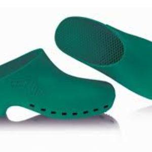 Bidoia Calzuro S senza fori Verde Zoccolo Professionale